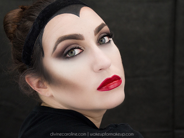 maleficent makeup look