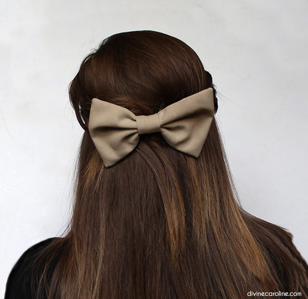 Second Day Hair Bow