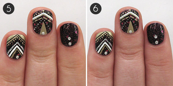 An Oh So Glamorous Nail Design To Celebrate The New Year More