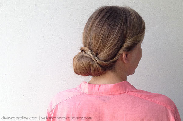 Party Hair: The Low Bun