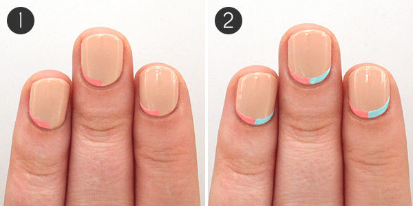 Pastel Nails with Studs to Put a Spring in Your Step | more.com