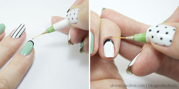 Nail Art Techniques Hold A Brush