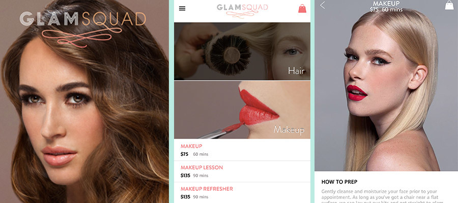 Glamsquad Beauty App