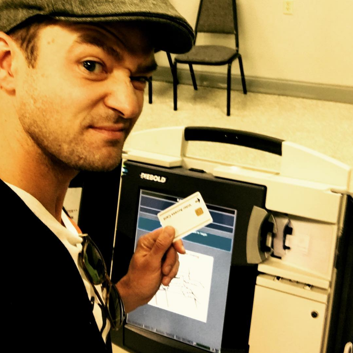 Justin Timberlake could go to jail for taking a selfie in the voting booth.
