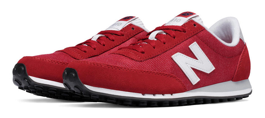 Red New Balance Sneakers