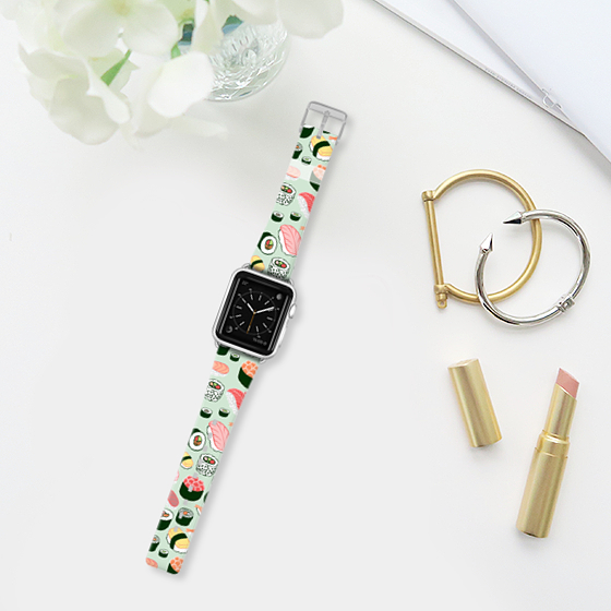 Sushi Forever Apple Watch Band