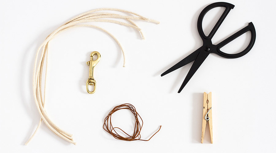Materials for Leather Keychain