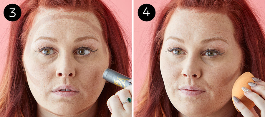 No-Makeup Makeup Steps 3 & 4