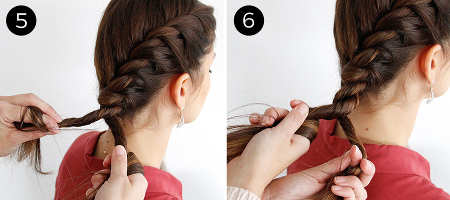 Twisted Pigtails Steps 5 & 6