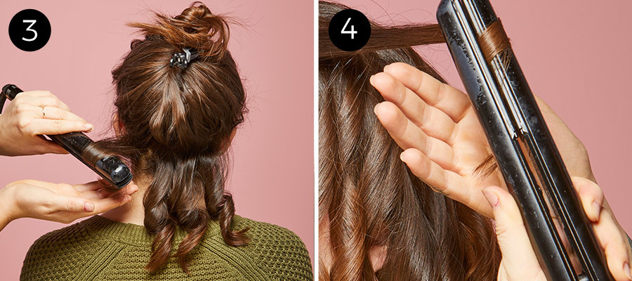 Finger Waves Steps 3 & 4