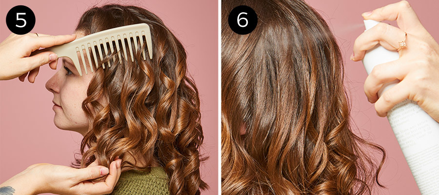 Finger Waves Steps 5 & 6