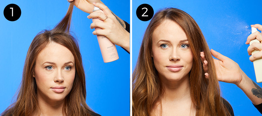 Perfect Loose Waves Steps 1 & 2