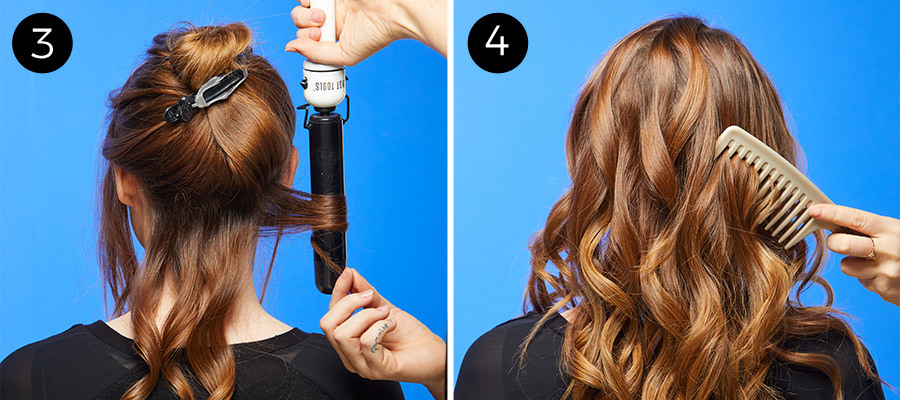 Perfect Loose Waves Steps 3 & 4