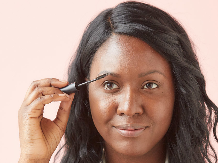 How to Fill in Brows With Powder Step 1