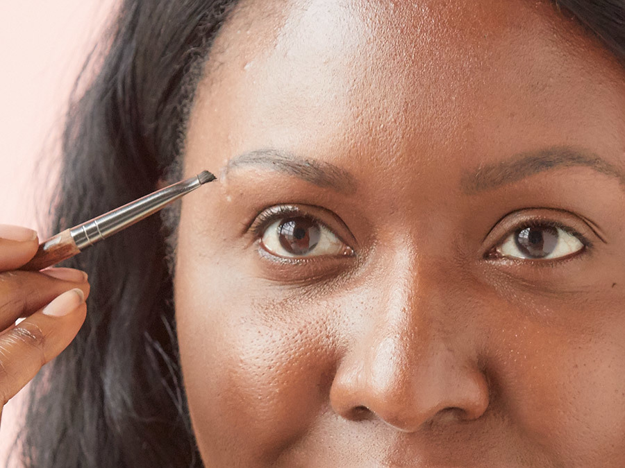 How to Fill in Brows With Powder Step 2