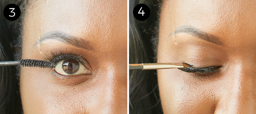 How to Apply False Lashes Steps 3 & 4