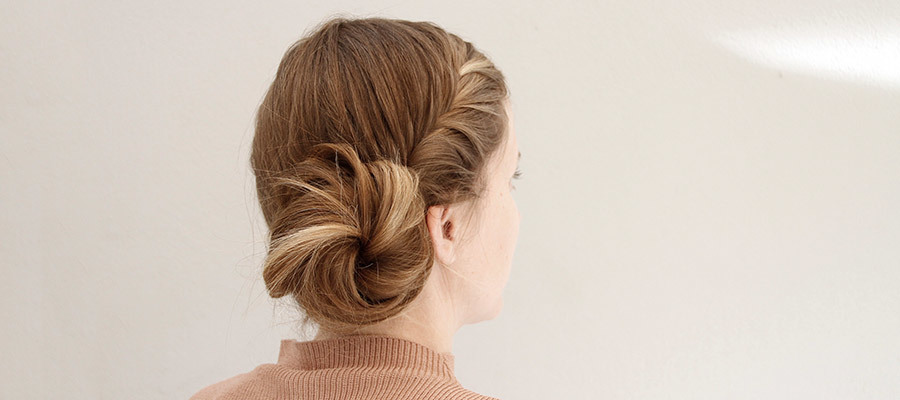 French Fishtail Bun: Final