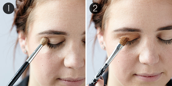 Special Occasion Makeup for Blue Eyes