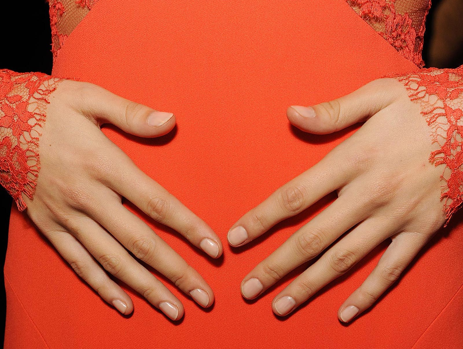NYFW: Soft, Sheer Nails by butter LONDON on the Monique Lhuillier ...