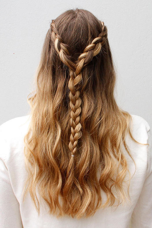 Hairstyles Plaits For Long Hair - HairStyles
