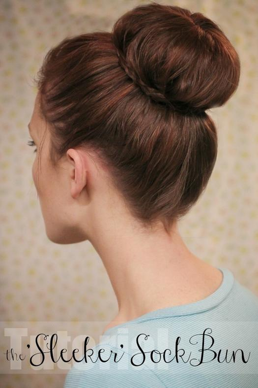hair buns style 11 no heat hairstyles for the on the go more 1597