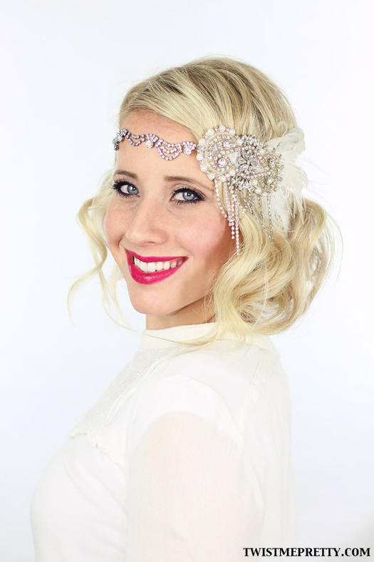 gatsby hair styling vintage wedding hairstyles retro looks for classic brides 3350