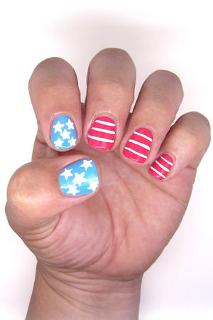 4th of July Nails: Stars and Stripes Forever