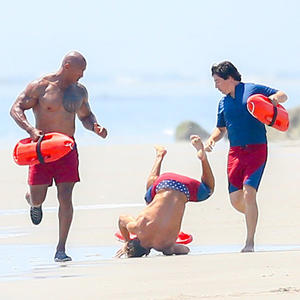 Zac Efron Hit the Beach for the