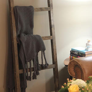 The DIY Blanket Ladder Even a Tool Newbie Can Make