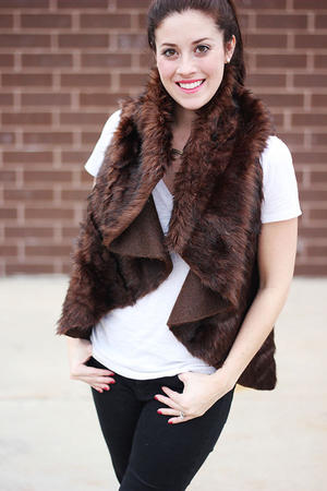 Create Your Own DIY Fur Vest