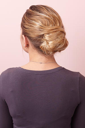 Learn a New Messy Updo: The Modern French Twist