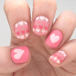 Sweet Heart Nail Art to Fall in Love with