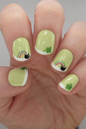Lucky Us: St. Patrick's Day Nail Designs to Show Off