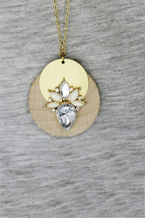 Make Your Own: Statement Pendant Necklace