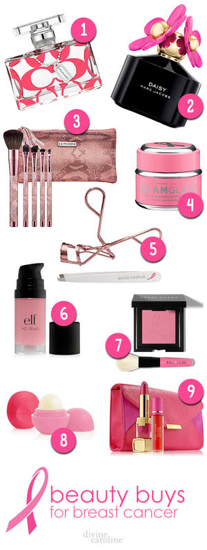 Show Your Support: Breast Cancer Awareness Beauty Products