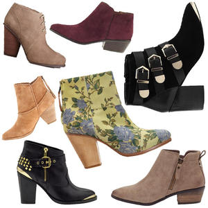 Now & Later: Booties to Wear Into Fall