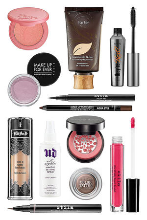 Waterproof Makeup for April Showers