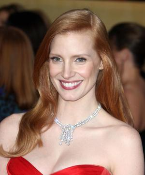 Get the Look: Jessica Chastain's SAG Awards Splendor