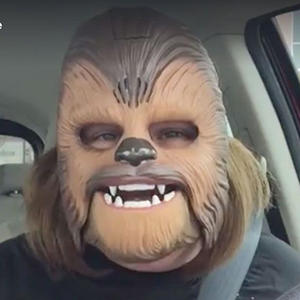 Hilarious New Song Featuring Chewbacca-Masked Woman Will Make You LOL