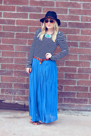 3 Ways to Wear It: How to Style a Chiffon Maxi Skirt