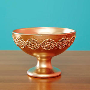 DIY Gold Jewelry Dish: Make a Glitzy Catchall
