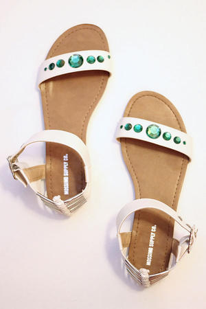 DIY Style: Make Your Own Embellished Sandals