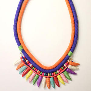 DIY Style: How to Make a Woven Cord Necklace