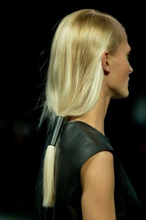 NYFW: Hair by UNITE Hair on the Helmut Lang Runway