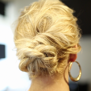 On-the-Go Updo: The Rope Braid Hairstyle