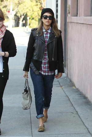 Get the Look: Jessica Alba's Edgy Street Style