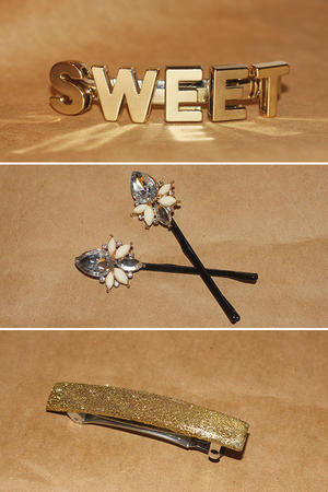 Make It Yourself: Decorative Bobby Pins and Barrettes
