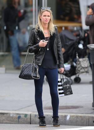 Get the Look: Nicky Hilton's Leather and Skinny Jeans