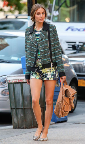 Get the Look: Olivia Palermo's Playful Pattern Mixing