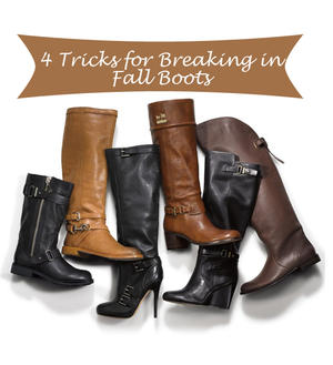 Supermodel Secrets: 4 Little Tricks for Breaking in Fall Boots